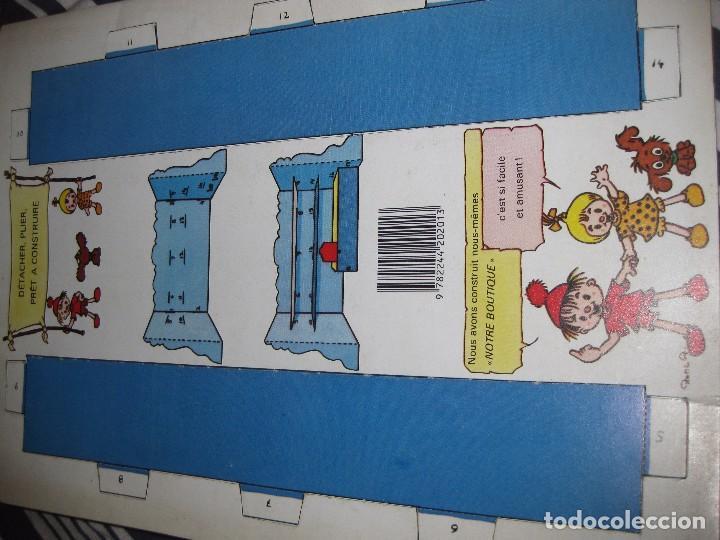 Coleccionismo Recortables: bonito album recortables de tienda de muñeca y juguetes notre boutique ed lito 1984 completo carton - Foto 6 - 85253012