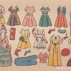 Coleccionismo Recortables: RECORTABLE MUÑECAS FLORITA ROSALIA. Lote 87142924