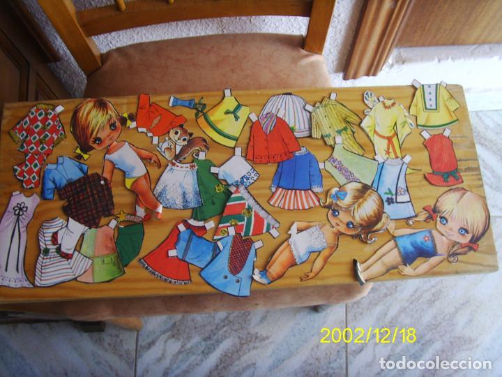 LOTE DE RECORTABLES CON MUÑECAS (Coleccionismo - Recortables - Muñecas)