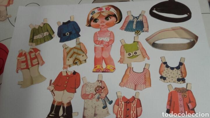 MUÑECA RECORTABLE BRUGUERA RECORTADA (Coleccionismo - Recortables - Muñecas)