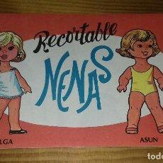 Coleccionismo Recortables: LIBRITO RECORTABLE NENAS. OLGA - ASUN N° 2. Lote 93118370