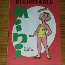 Coleccionismo Recortables: RECORTABLE MINI N° 7 MARI FELI - LOLI. Lote 94721155