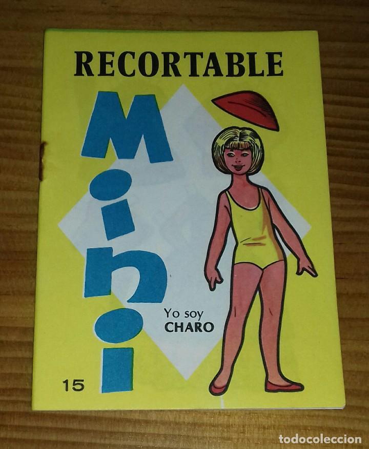 RECORTABLE MINI N° 15 CHARO - CARLOTA (Coleccionismo - Recortables - Muñecas)