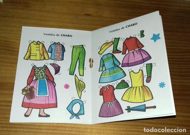 Coleccionismo Recortables: Recortable Mini N° 15 Charo - Carlota - Foto 3 - 94762031