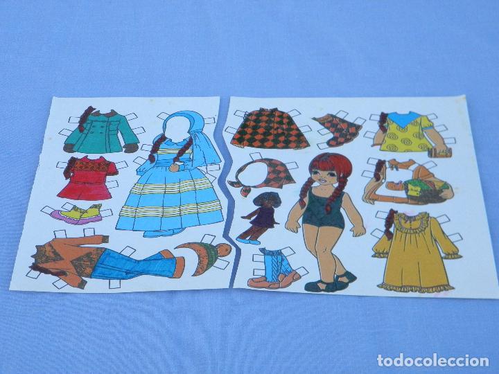 Coleccionismo Recortables: Muñeca recortable Servilibro - Foto 2 - 96309219