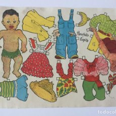 Coleccionismo Recortables: RECORTABLE PANCHITO LUPITA. EMULSION SCOTT.. Lote 98709131