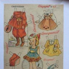 Coleccionismo Recortables: RECORTABLE CEREGUMIL MUÑECAS Nº43.. Lote 98712787