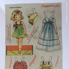 Coleccionismo Recortables: RECORTABLE CEREGUMIL MUÑECAS Nº41.. Lote 98712807