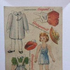 Coleccionismo Recortables: RECORTABLE CEREGUMIL MUÑECA Nº 1.. Lote 98713855