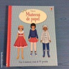 Coleccionismo Recortables: LIBRO DE RECORTABLES DE MUÑECA EDITORIAL USBORNE CON 4 MUÑECAS Y MAS DE 50 PRENDAS. Lote 98984907