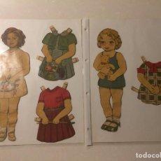 Coleccionismo Recortables: RECORTABLES SHIRLEY TEMPLE, ORIGINALES AÑOS 30-40. Lote 101405351