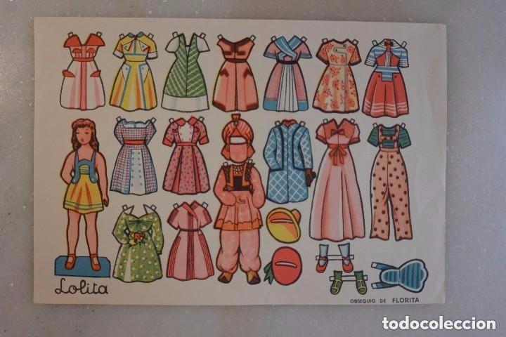 RECORTABLE MUÑECA LOLITA (Coleccionismo - Recortables - Muñecas)