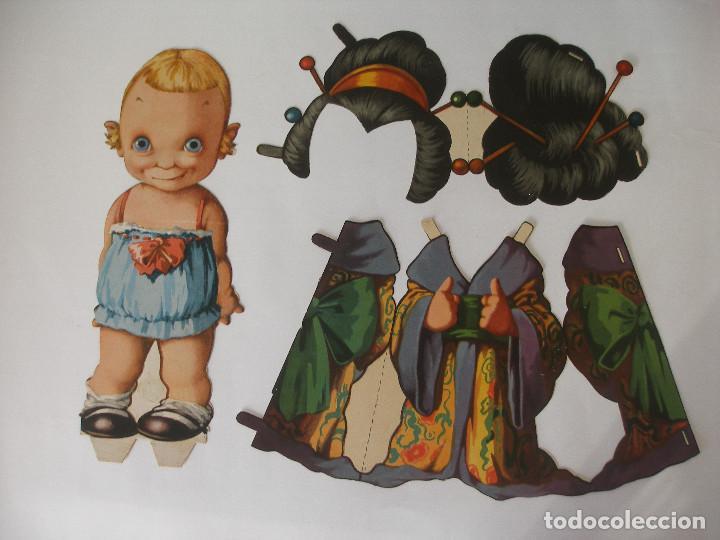 Coleccionismo Recortables: Antiguo recortable Titin y Titina la pareja de moda nº 1 Ediciones Barsal Barcelona - Foto 5 - 104692135