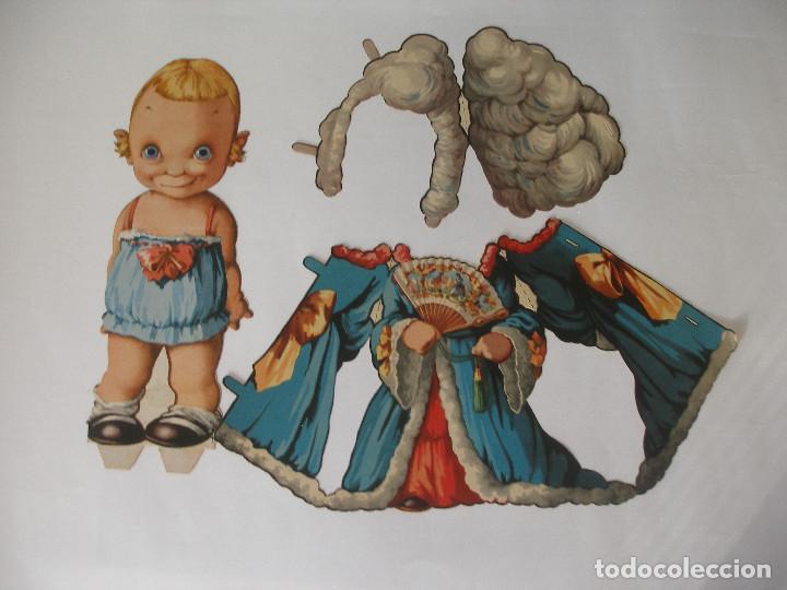 Coleccionismo Recortables: Antiguo recortable Titin y Titina la pareja de moda nº 1 Ediciones Barsal Barcelona - Foto 7 - 104692135