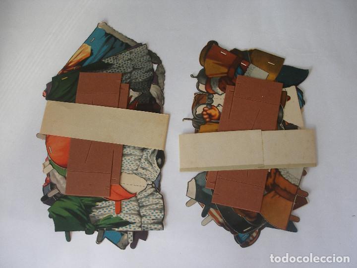 Coleccionismo Recortables: Antiguo recortable Titin y Titina la pareja de moda nº 1 Ediciones Barsal Barcelona - Foto 18 - 104692135