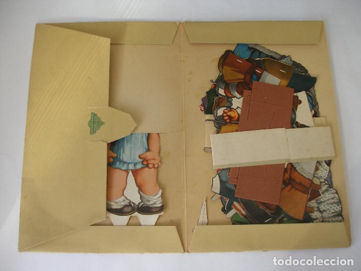 Coleccionismo Recortables: Antiguo recortable Titin y Titina la pareja de moda nº 1 Ediciones Barsal Barcelona - Foto 19 - 104692135