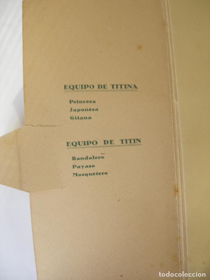 Coleccionismo Recortables: Antiguo recortable Titin y Titina la pareja de moda nº 1 Ediciones Barsal Barcelona - Foto 20 - 104692135