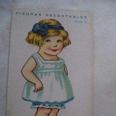 Coleccionismo Recortables: CROMO RECORTABLE. Lote 105659463