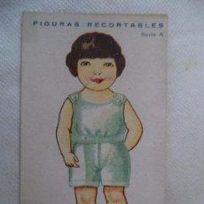 Coleccionismo Recortables: CROMO RECORTABLE. Lote 105660503