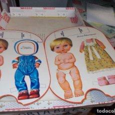 Coleccionismo Recortables: RECORTABLES BABY MOCOSETE . Lote 107900295