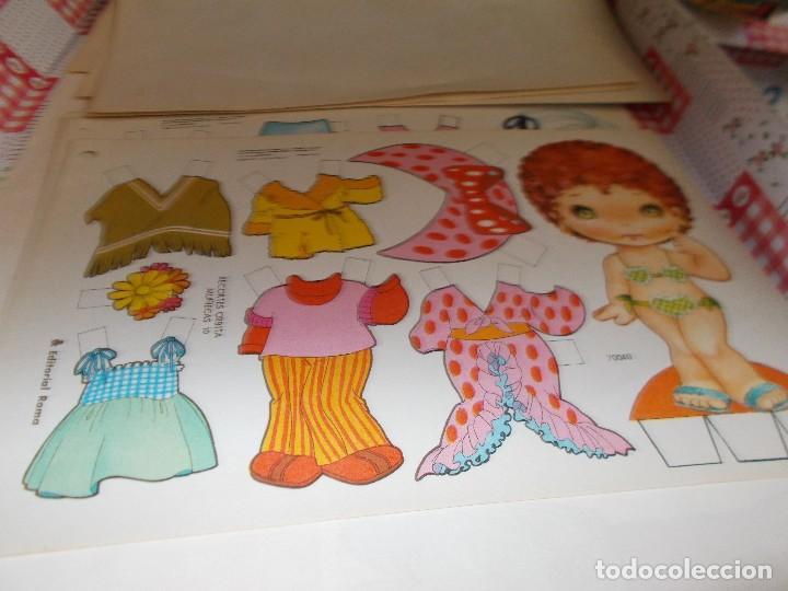 RECORTABLE AÑOS70 (Coleccionismo - Recortables - Muñecas)
