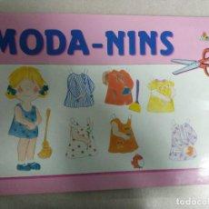Coleccionismo Recortables: MODA - NINS. EDICIONES CON BEL. BARCELONA, 1989 (LIBRO CON 8 LAMINAS). 25,5 X 38 CM. RECORTABLES. Lote 110243915