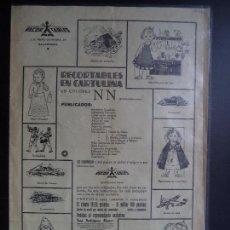 Coleccionismo Recortables: HOJA PROPAGANDA DE RECORTABLES. Lote 110528107