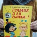 Coleccionismo Recortables: TUBAL RECORTABLES VAMOS A LA CAMA LA FAMILIA TELERIN Y SUS VESTIDOS 28 CM 300 GRS . Lote 112327151