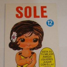 Coleccionismo Recortables: (TC-108) RECORTABLE MINI RECORTABLE DRUIDA SOLE 1982. Lote 112385059