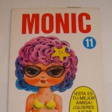 Coleccionismo Recortables: (TC-108) RECORTABLE MINI RECORTABLE DRUIDA MONIC 1982. Lote 112385079