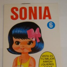 Coleccionismo Recortables: (TC-108) RECORTABLE MINI RECORTABLE DRUIDA SONIA 1982. Lote 112385091