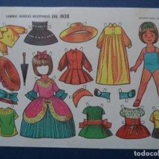 Coleccionismo Recortables: RECORTABLES EVA .802. Lote 114282683