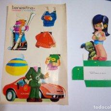 Coleccionismo Recortables: BANESTINA Y SU EQUIPO BANCO ESPAÑOL DE CREDITO. Lote 114815155