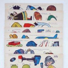 Coleccionismo Recortables: RECORTABLES TORAY G 14. MUÑECAS 105 A 112. COMPLETA (MARÍA PASCUAL) TORAY, 1962. OFRT. Lote 233433985