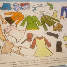 Coleccionismo Recortables: RECORTABLES ROLLAN MARITA. Lote 114964911