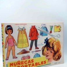 Coleccionismo Recortables: LÁMINAS MUÑECAS RECORTABLES EVA 951 A 960. LIBRO 50 LÁMINAS. 5 COLECCIONES. 1962. Lote 153999137