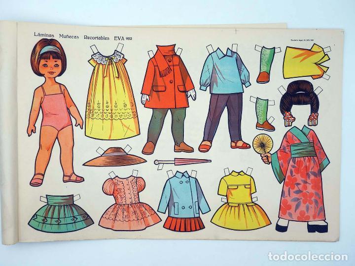 Coleccionismo Recortables: LÁMINAS MUÑECAS RECORTABLES EVA 951 A 960. COMPLETA (No Acreditado) Vasco Americana, 1962. OFRT - Foto 3 - 233751270