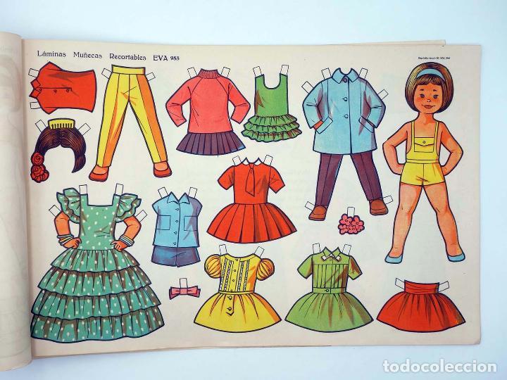 Coleccionismo Recortables: LÁMINAS MUÑECAS RECORTABLES EVA 951 A 960. COMPLETA (No Acreditado) Vasco Americana, 1962. OFRT - Foto 4 - 233751270