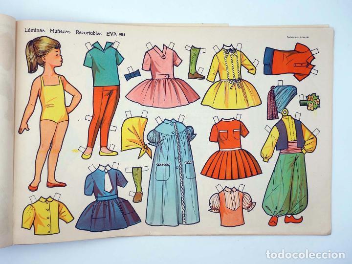 Coleccionismo Recortables: LÁMINAS MUÑECAS RECORTABLES EVA 951 A 960. COMPLETA (No Acreditado) Vasco Americana, 1962. OFRT - Foto 5 - 233751270