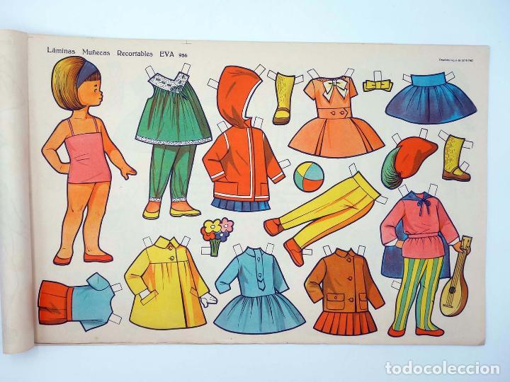 Coleccionismo Recortables: LÁMINAS MUÑECAS RECORTABLES EVA 951 A 960. COMPLETA (No Acreditado) Vasco Americana, 1962. OFRT - Foto 7 - 233751270
