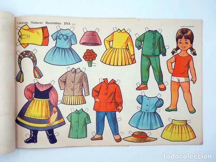 Coleccionismo Recortables: LÁMINAS MUÑECAS RECORTABLES EVA 951 A 960. COMPLETA (No Acreditado) Vasco Americana, 1962. OFRT - Foto 8 - 233751270