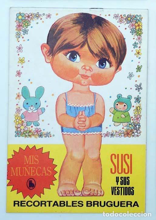 RECORTABLES MIS MUÑECAS SUSI Y SUS VESTIDOS (MANUEL BREA) BRUGUERA, 1986 (Coleccionismo - Recortables - Muñecas)