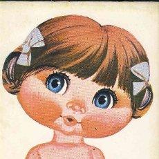 Coleccionismo Recortables: RECORTABLE DE MUÑECAS: COLECCION MIS MUÑECAS: NURIA (ED.BRUGUERA) (VER FOTO ADICIONAL). Lote 115169895
