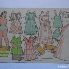 Coleccionismo Recortables: Mª CARMEN RECORTABLES EL SOLDADO SERIE 100 Nº 107. Lote 116074839