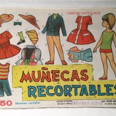 Coleccionismo Recortables: BLOCK CON 50 RECORTABLES DE MUÑECAS. Lote 117679307