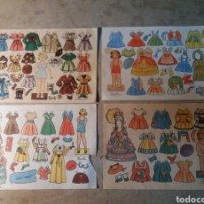 Coleccionismo Recortables: FLORITA,TERE,ANGELINA,RUFINA. Lote 118074199