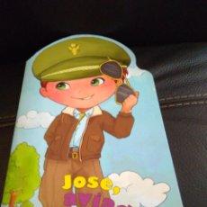 Coleccionismo Recortables: LIBRO DE RECORTABLE DE MUÑECAS JOSE AVIADOR DE SUSAETA. Lote 222596862