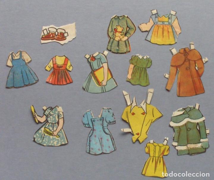 LOTE RECORTABLES ANTIGUOS (Coleccionismo - Recortables - Muñecas)
