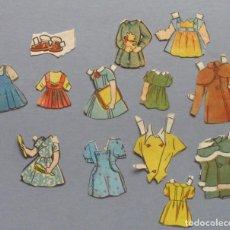 Coleccionismo Recortables: LOTE RECORTABLES ANTIGUOS. Lote 118954351