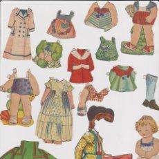 Coleccionismo Recortables: RECORTABLES MUÑECAS/OS AÑOS 50-60 -- MIRA FOTOS ADICIONALES. Lote 119537559